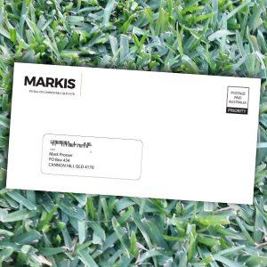 Envelope overprinting