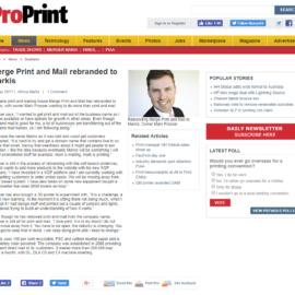 ProPrint Magazine Feature