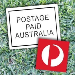Postage – Regular Mail Full Price – Mojo