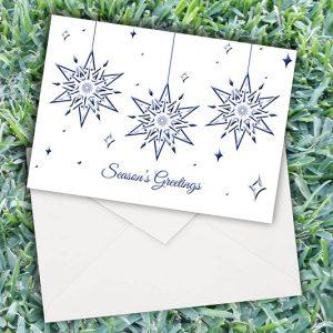 Christmas Stunning Stars Cards
