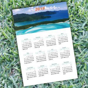 2018 Calendar Whitehaven Beach