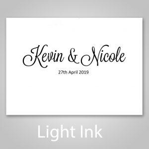 light ink