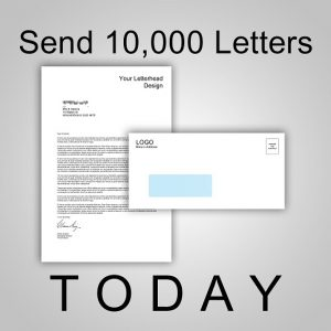 Send 10,000 Letters TODAY