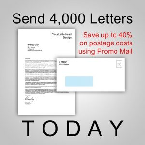 Send 4,000 Letters by Promo Mail TODAY