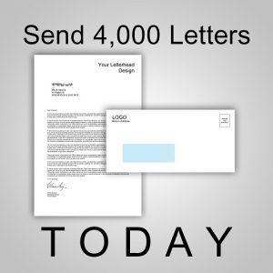 Send 4,000 Letters TODAY